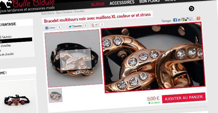 E-commerce Bijoux - Bulle Bidule